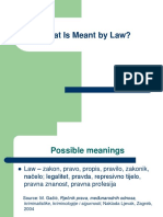 What is Meant by Law[12]
