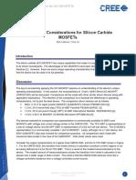 MosfetSiC , Info, Silicon-Carbide , SIC , CREE 7