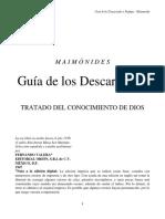 GUIA DE LOS DESCARRIADOS