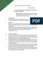 Denuncia Ante Indecopi Por Infraccion Al Codigo Del Consumidor