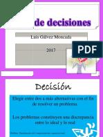 Clase Toma de Deciciones