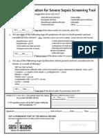 Evaluation for Severe Sepsis Screening Tool for FRHS Pediatrics NLMRD 09.11