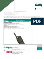 Formato Cotizador Formal GPTT