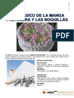 02. Uso de La Manga Pastelera