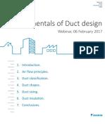 Fundamentals of Duct Design