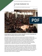 AGAMBEN, Giorgio (2013)  Por Uma Teoria Do Poder Destituinte