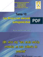 Tema 10 Los Virus y Sus Mecanismos de Patogenicidad