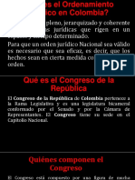 Qué Es El Ordenamiento Juridico en Colombia Diapositivas
