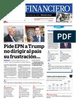 Periodico el financiero del 6 de abril de 2018