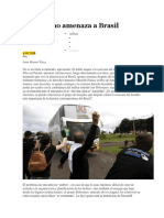 El Fascismo Amenaza a Brasil