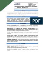 Pro-ga-001-Procedimiento de Identificacion y Evaluacion de Aspectos e Impactos Ambientales