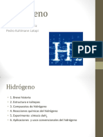 Hidrogeno Informacion