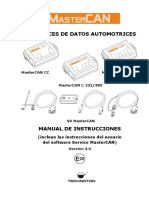 MasterCAN Manual de Instrucciones J1939