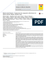 Bipolar Mixed Features – Results From the Comparative Effectiveness For