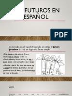 Los Futuros en Español