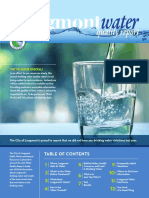 Longmont Drinking Water Quality Report