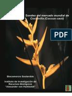 Sonde Mucndial Del Mercado Mundial de La Grna Cochinilla