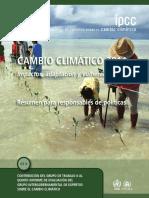 IPCC 2014 Cambio Climático 2014. WGII