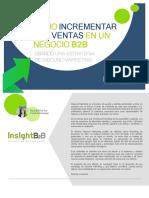 eBook Como Incrementar Las Ventas en Un Negocio B2B Con Inbound Marketing
