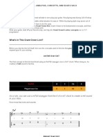 Grant Green II v i - Lick Analysis, Concepts