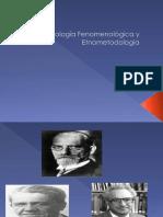 Fenomenología y Etnometodología