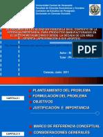 Defensa Proyecto de Tesis Doctoral2011
