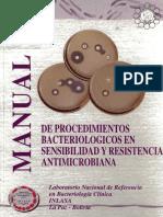 Manual de resistencia Bacteriana