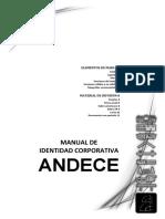 Manual de Identidad Corporativa ANDECE