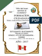 Formación Ciudadana - Garantías Constitucionales