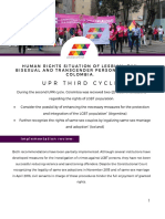 UPR third cycle