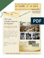 Programación de La Asignatura de Historia de España.doc