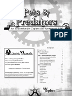 Pets and Predators