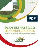 Plan Estratégico de Comunicaciones Marquetalia Unida Segura y Productiva