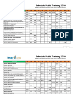 243-302 Schedule Public Training 2018 Mechanical and Maintenance