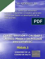Mód 1 La Orgaizaciòn 2006