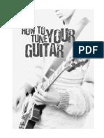 Como Afinar Tu Guitarra Jamorama