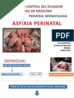 Asfixia Apn