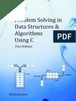 Problem Solving Data Structures Algorithms Using c