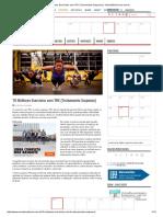 19 Melhores Exercícios Com TRX (Treinamento Suspenso) - MundoBoaForma.com.Br