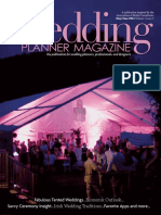 Wedding Planner Magazine Volume 1, Issue 2