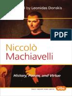 DONSKIS ¢ Niccolo Machiavelli. History, Power, and Virtue [KW politics]