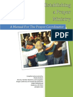 546 - How to Start a Prayer Ministry-From Oregon Conf