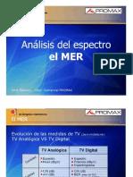 Análisis Del Espectro EL MER