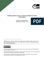 Politicas Publicas Para a Ed Infantil No Brasil