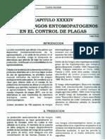 Uso de Hongos Entomopatogenos en El Control de Plagas