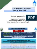 Kebijakan Program Imunisasi Kadis