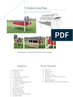 Chicken Coop Plans TheCreativeMom
