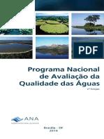 Folder_Programa Nacional de Avaliação Da Qualidade Das Águas. ANA, 2014