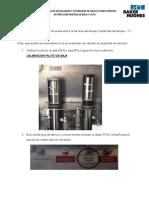 Instalación y Operación Valvula de Subsuelo en Pozo Ed-32