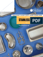 Stainless Steel Ware Catalog